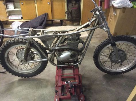 Bultaco Model 11 Metisse Project - Naked Right