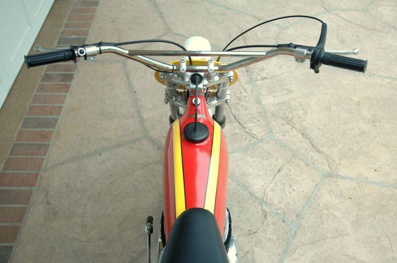Bultaco Pursang - Seat