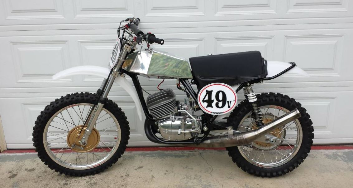San Antonio BMW >> Restored – 1973 CZ 250 – Bike-urious