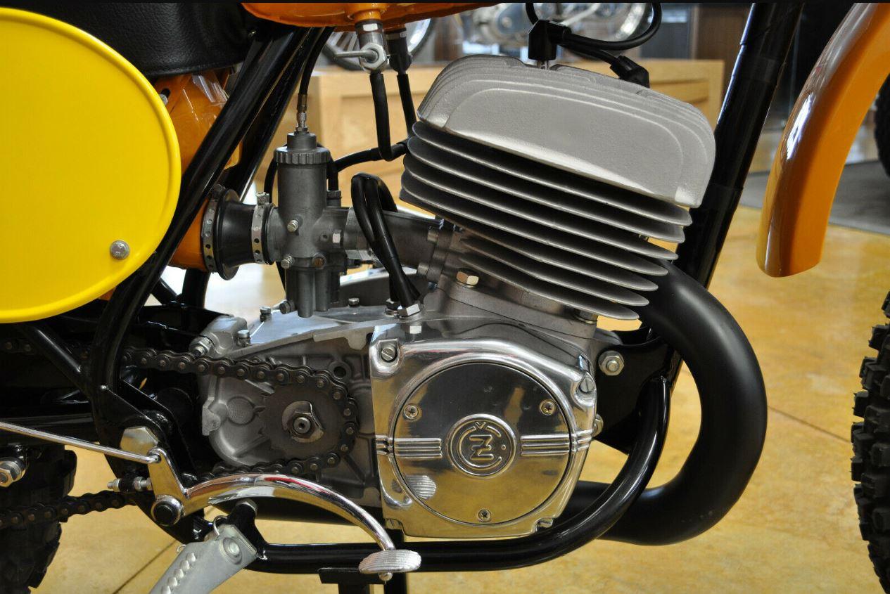 Restored – 1972 CZ 400