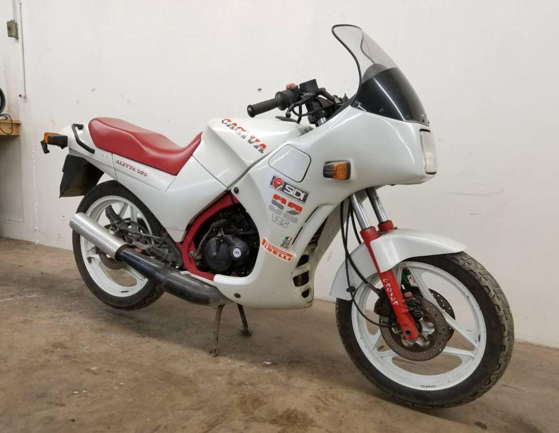 Rare Project - 1986 Cagiva Aletta Oro S2