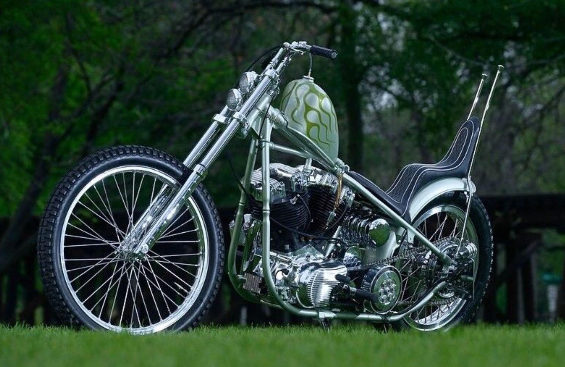 Chemical Candy Build – 1976 Harley-Davidson Shovelhead