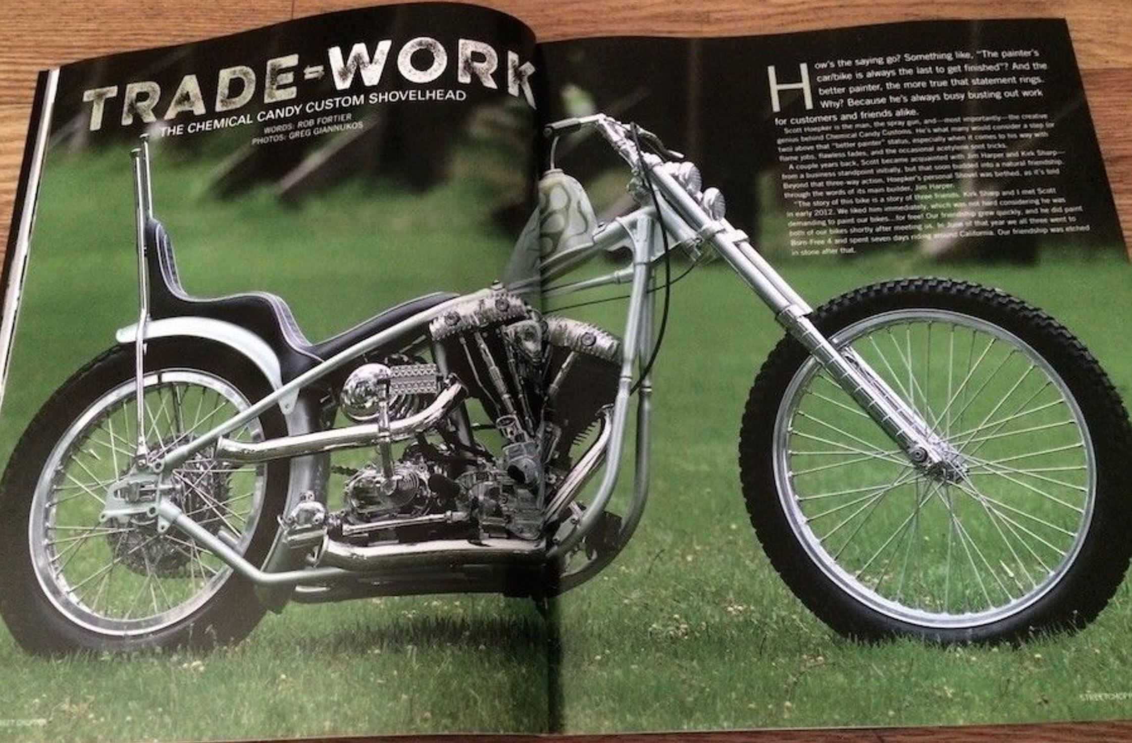 Chemical Candy Build – 1976 Harley-Davidson Shovelhead