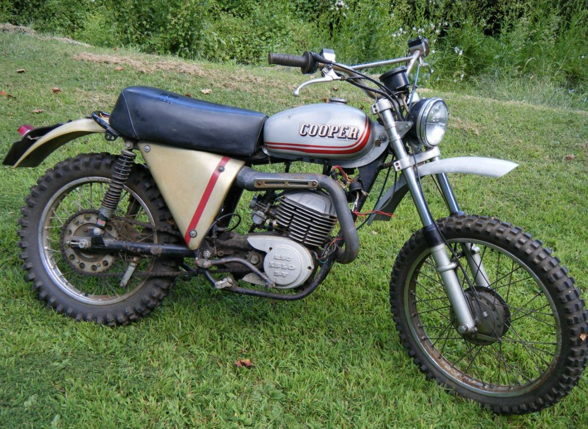 Needs Some Work – 1975 Cooper Islo 250 | Bike-urious