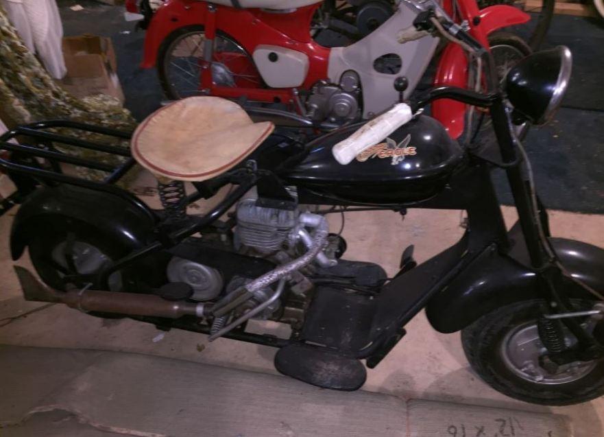 1950 Cushman Eagle – Bike-urious