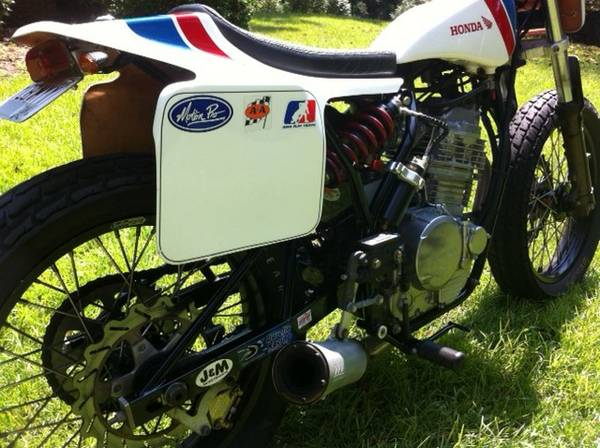 Custom Flat Tracker - Rear