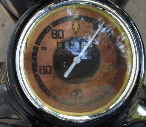 DKW SB500 - Gauges