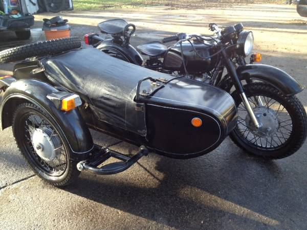 Dnepr MT11 Sidecar - Front Right