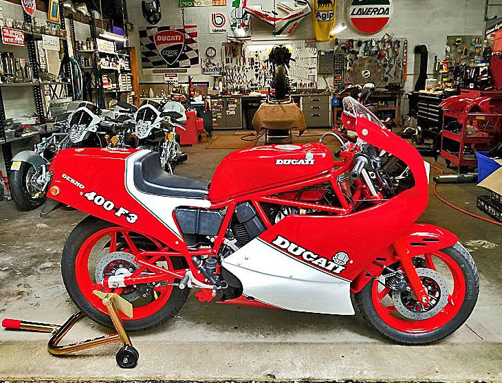 Built for Japan - 1986 Ducati 400 F3