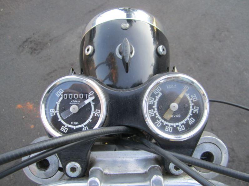 Ducati 450 Scrambler - Gauges