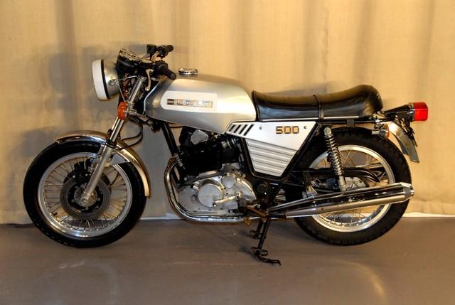 Ducati 500 GTL - Left Side