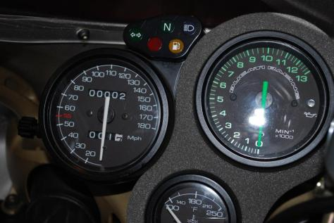 Ducati 748L Neiman Marcus Edition - Gauges