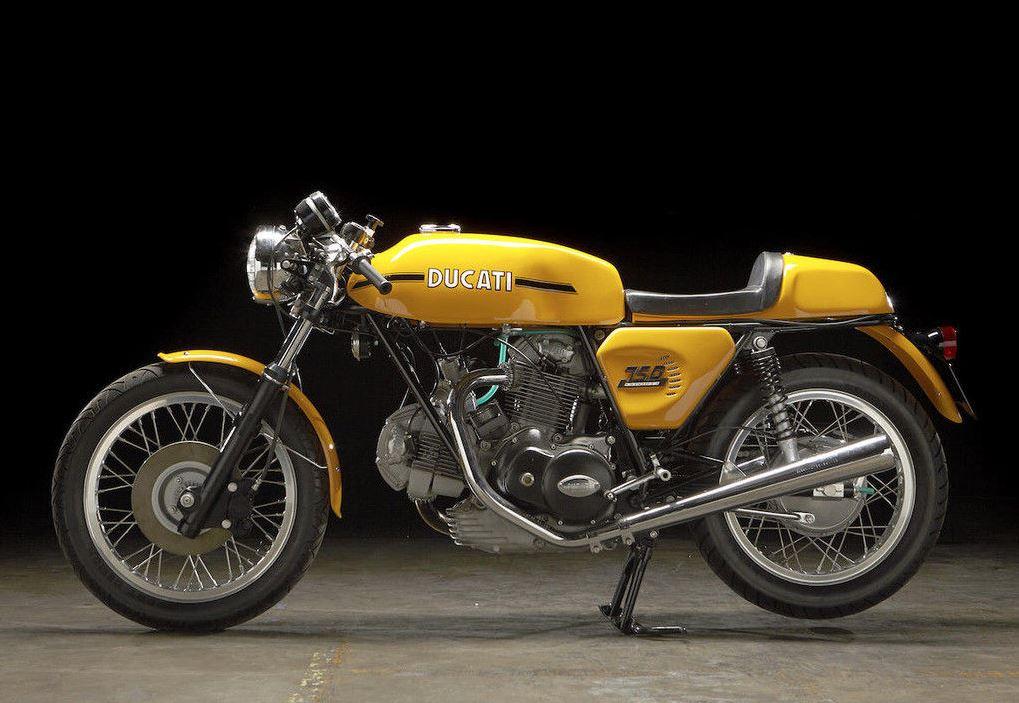 AMS Ducati Restoration - 1973 Ducati 750 Sport
