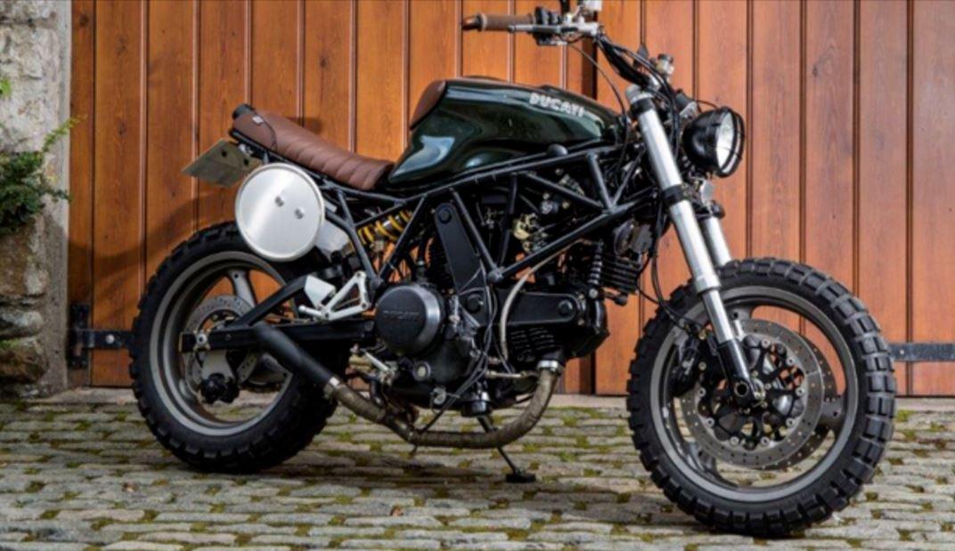 Scrambob Ducati 750 Super Sport Custom Bike Urious
