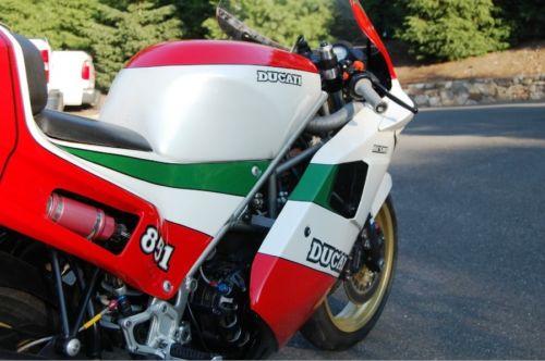 1 of 207 – 1988 ducati 851 tricolore | bike-urious