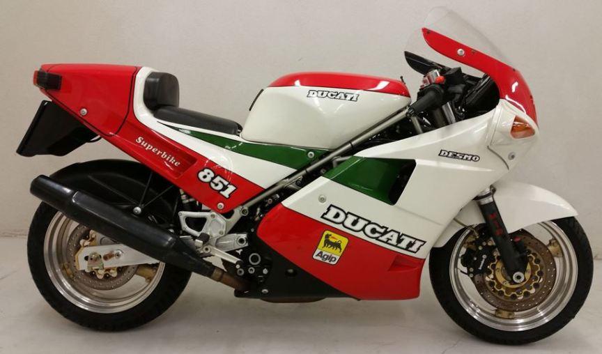 in austria – 1988 ducati 851 tricolore | bike-urious