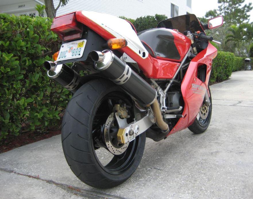 Ducati 888SPO - Rear Right