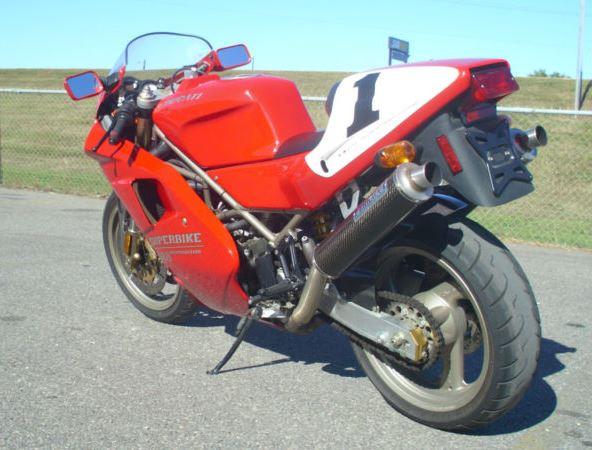 Ducati 888SPO - Rear