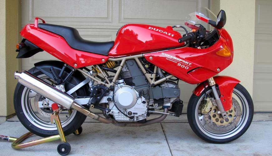 1996 ducati 900 ss/cr | bike-urious