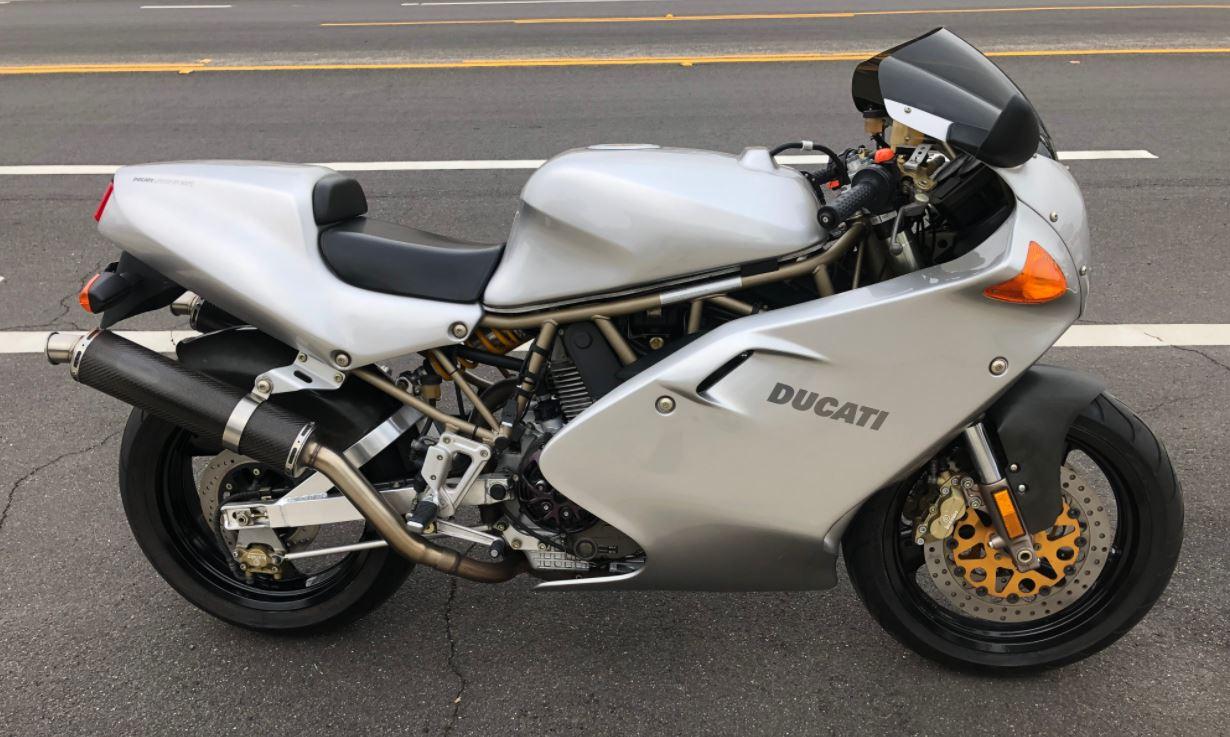 1998 Ducati 900SS Final Edition   Bike urious