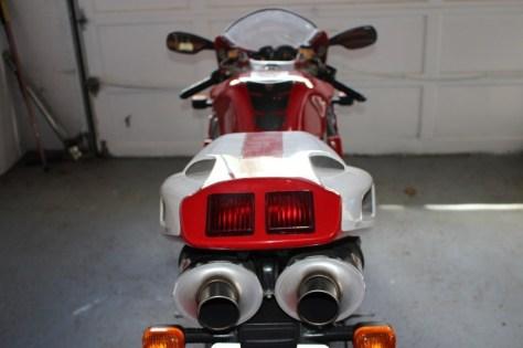 Ducati 916 SPS - Rear