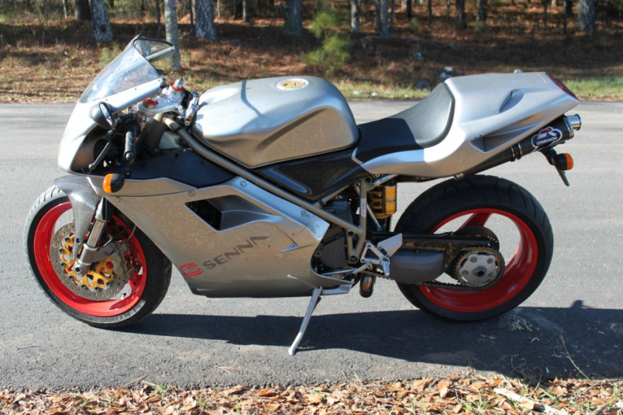 Ducati 916 Senna II - Left Side