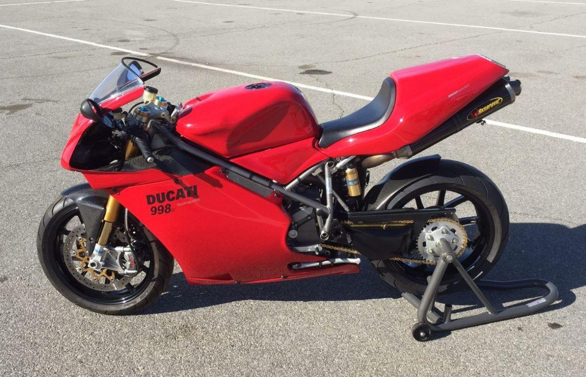 R Tribute 2002 Ducati 998 Custom Bike Urious