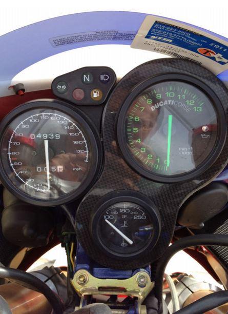 Ducati 998S Ben Bostrom Replica - Gauges
