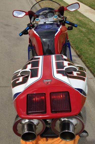 Ducati 998S Ben Bostrom Replica - Rear