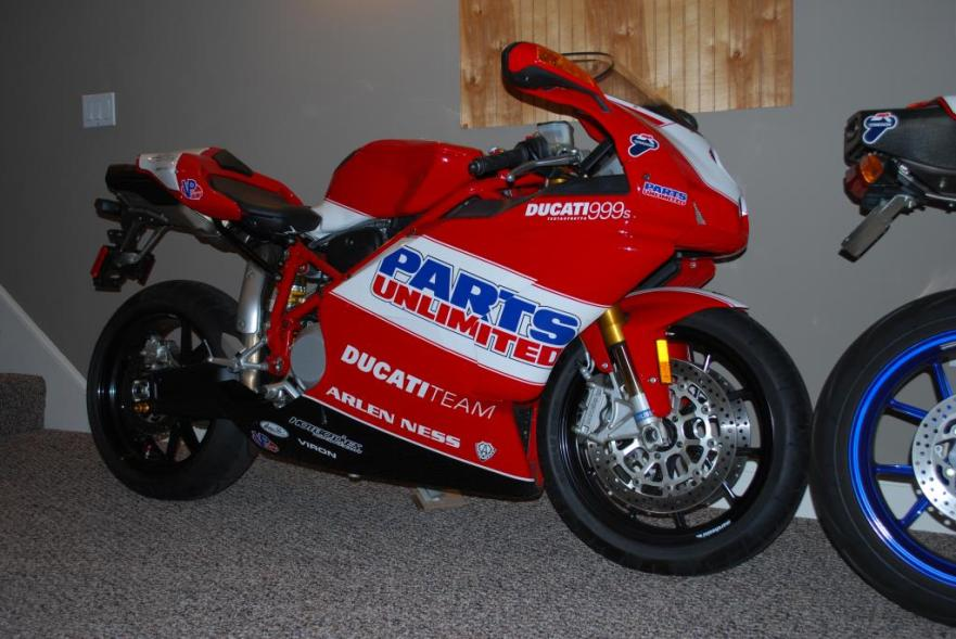 Ducati 999S Team USA Replica - Right Side