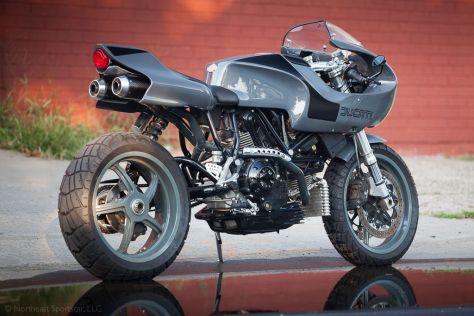 Ducati MH900E Custom - Right Rear