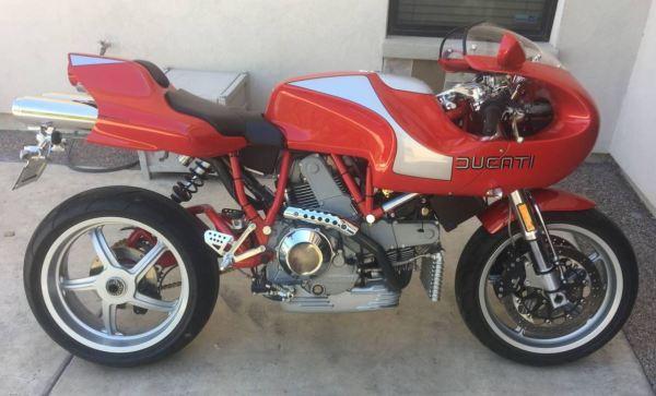 Piece of Art – 2001 Ducati MH900e