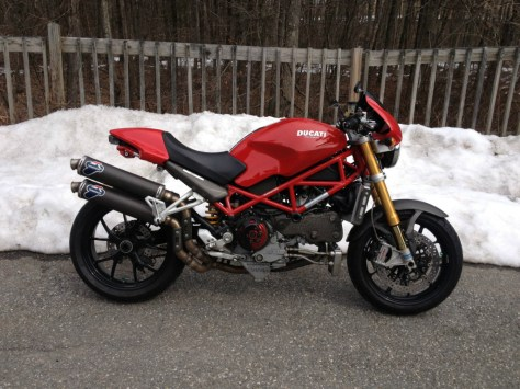 Ducati Monster S4RS Testastretta - Right Side