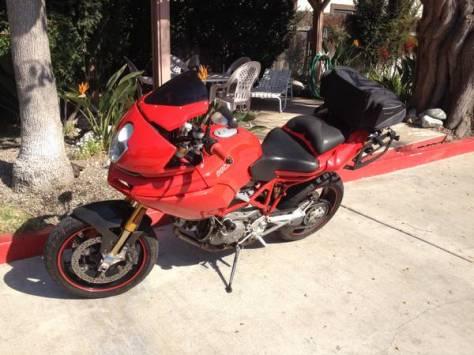 Ducati Multistrada 1100S - Left Side