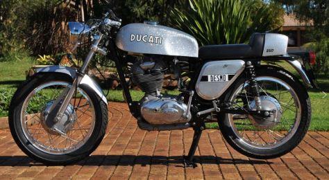 Ducati Silver Shotgun - Left Side