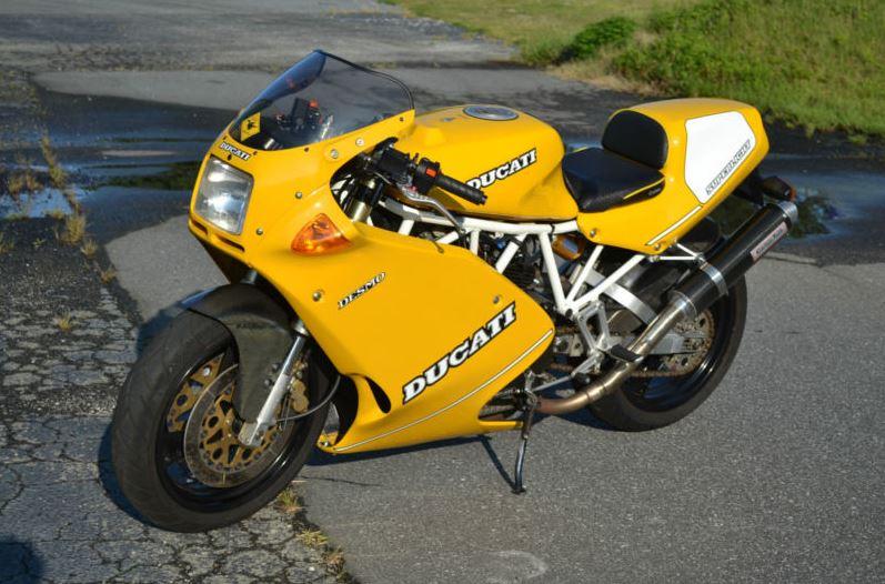 1993 Ducati Superlight 900   Bike-urious