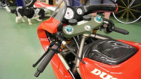 Ducati Supermono - Cockpit