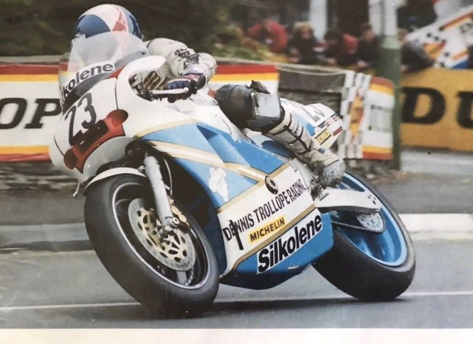 Ex-Steve Williams TT F1 - 1988 Bimota YB4-R