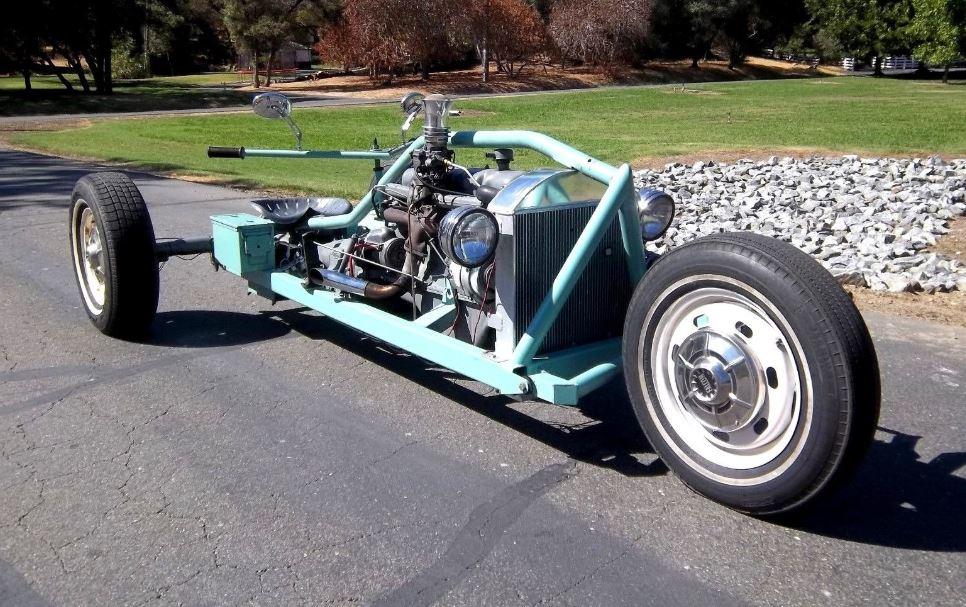 Ending Soon - 1964 Ford Falcon Drivetrain Trike