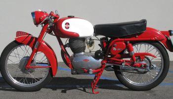 1955 gilera 150 sport | bike-urious