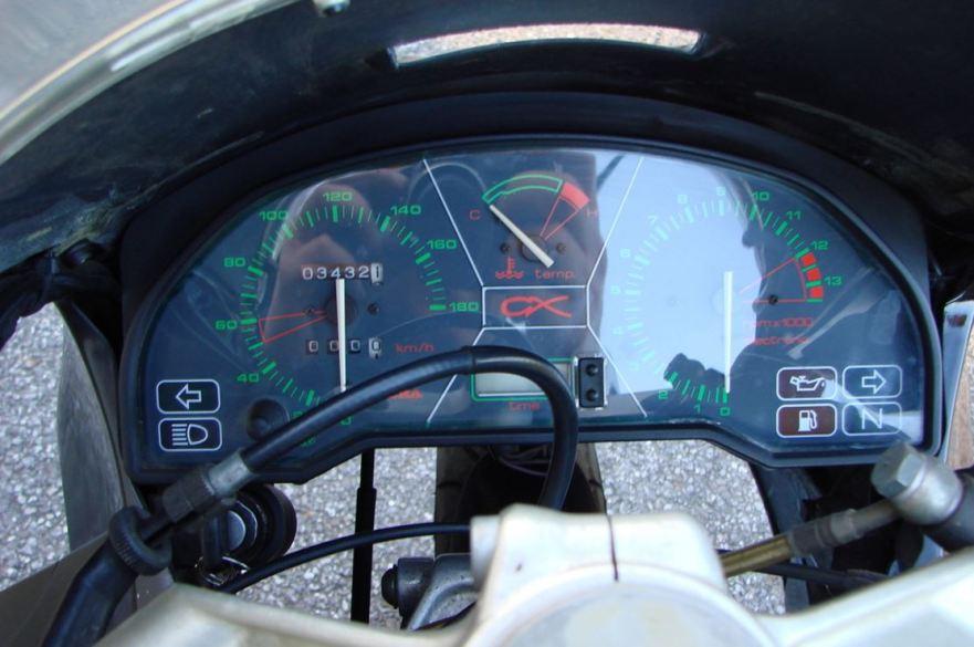 Gilera CX125 - Cockpit