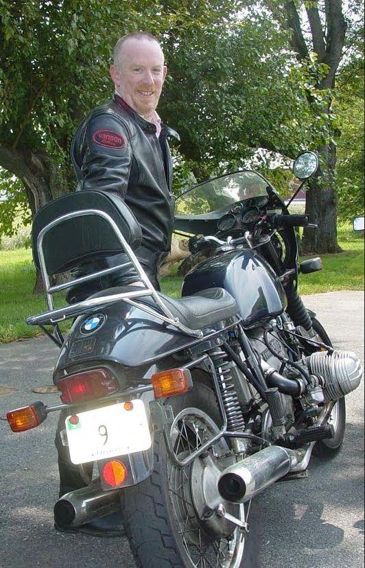 Greg R90S - Rear