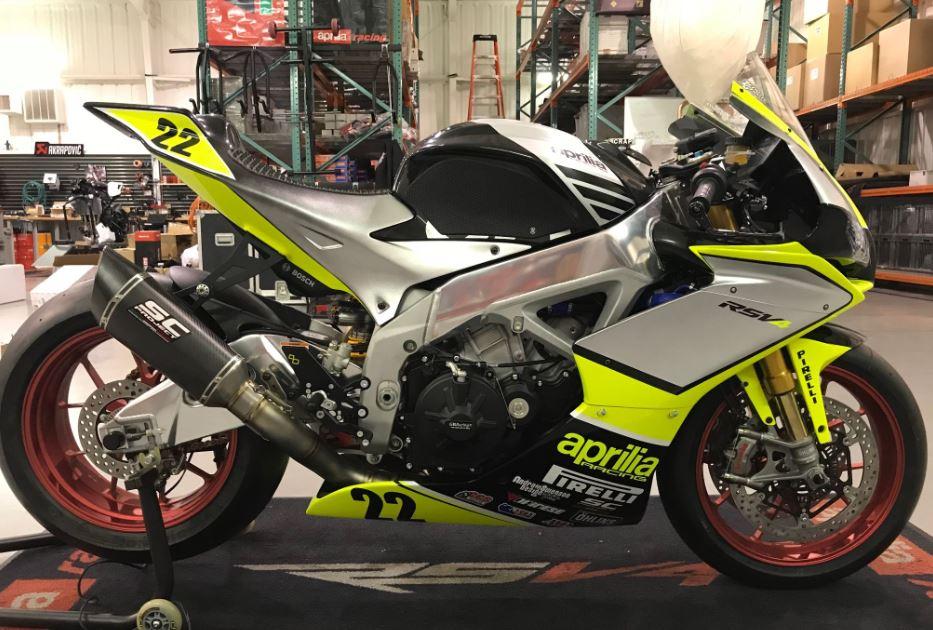 MotoAmerica Racer - HSBK-Spec 2018 Aprilia RSV4 RF