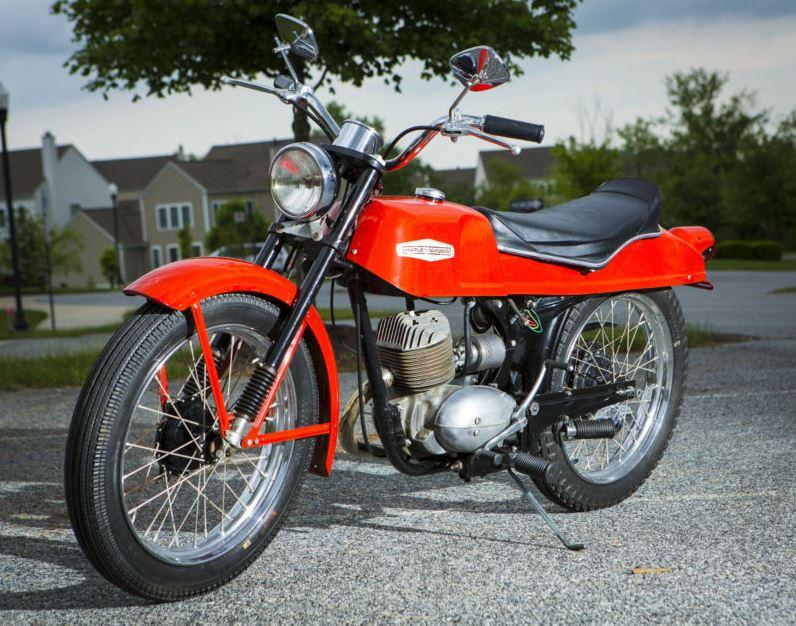 Harley Davidson Bobcat - Left Side