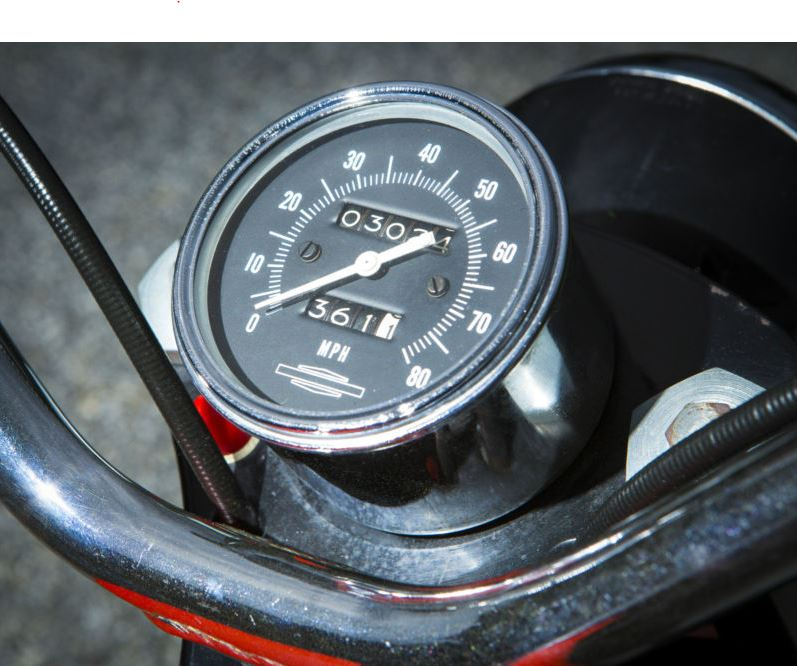 Harley Davidson Bobcat - Speedometer