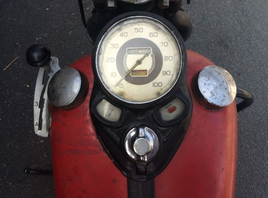Harley-Davidson EL Knucklehead - Gauges