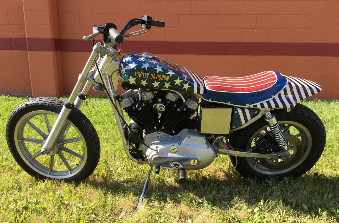 Evel Knievel S Harley Davidson Xl1000 Up For Auction: Evel Knievel Tribute – 1985 Harley Davidson XLX-61
