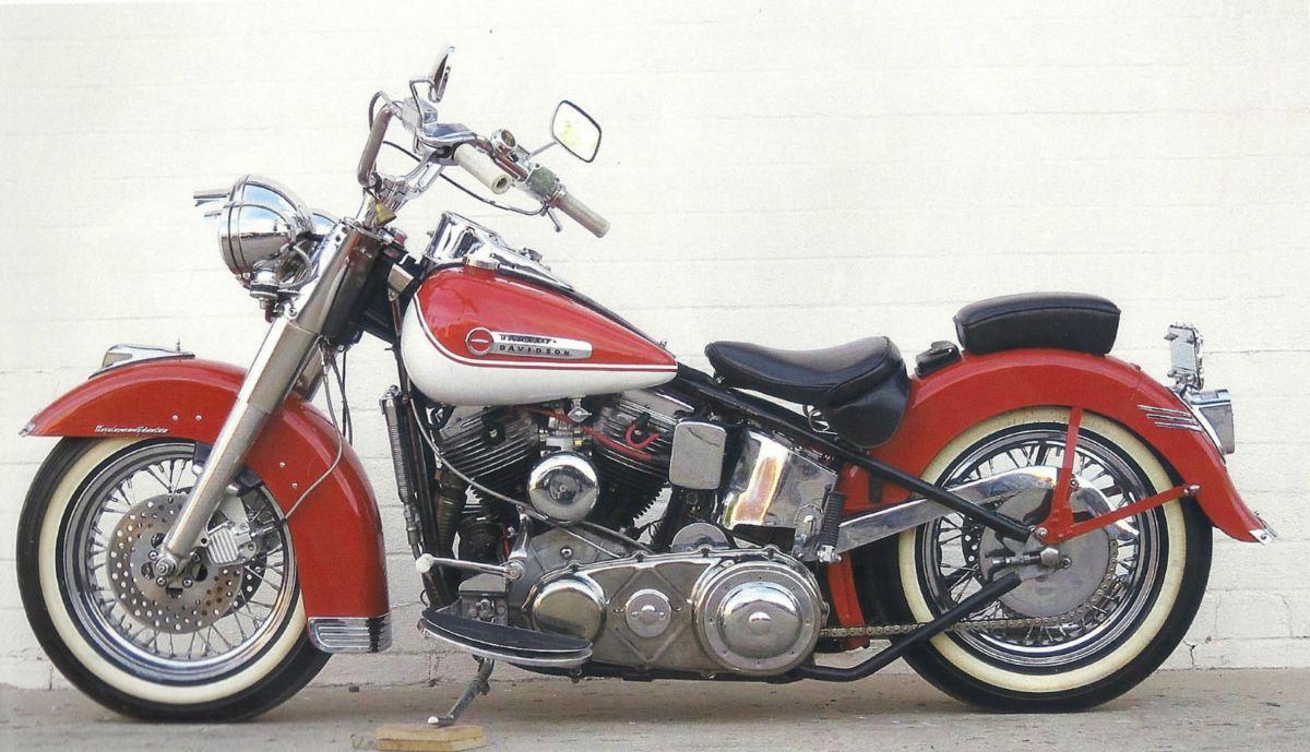 usable custom 1950 harley davidson fl hydra glide bike urious. Black Bedroom Furniture Sets. Home Design Ideas
