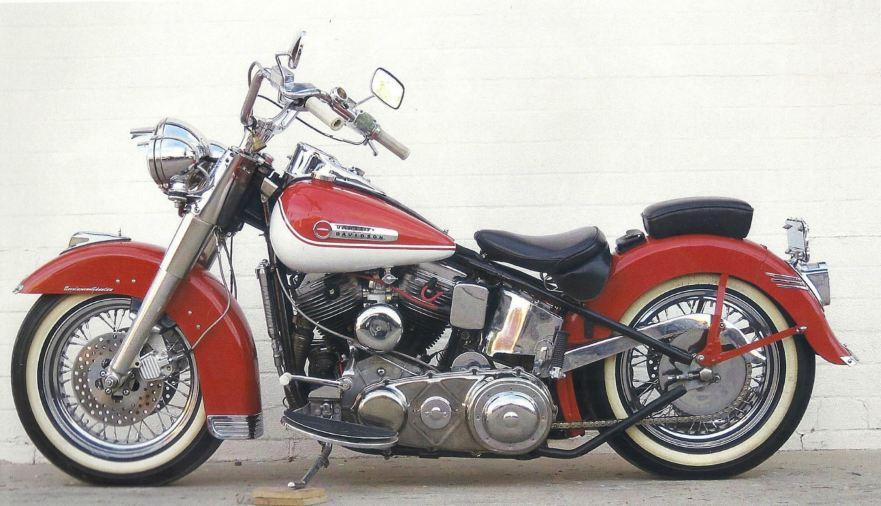 usable custom – 1950 harley davidson fl hydra glide | bike-urious