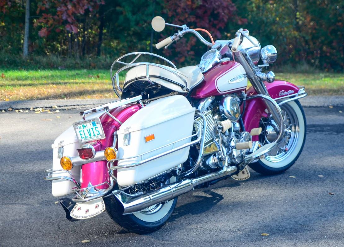 First Year Shovel – Restored 1966 Harley-Davidson FLH